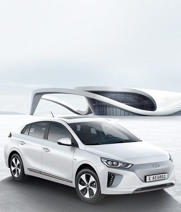 IONIQ Electric hero